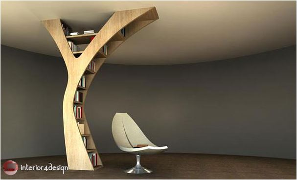 70 Best Bookshelf Designs 67