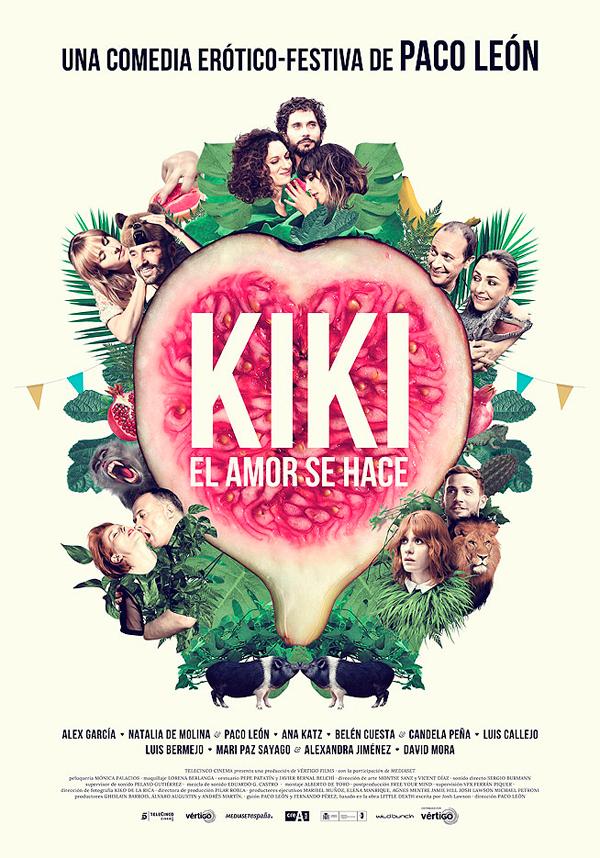 Cartel Kiki, el amor se hace