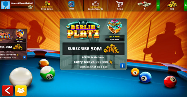 8 Ball Pool Mod Archon Cue Free