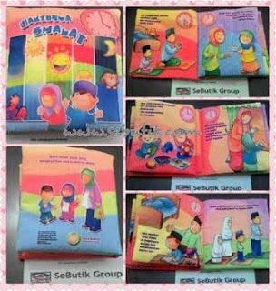 Buku Bantal Islami Waktunya Sholat
