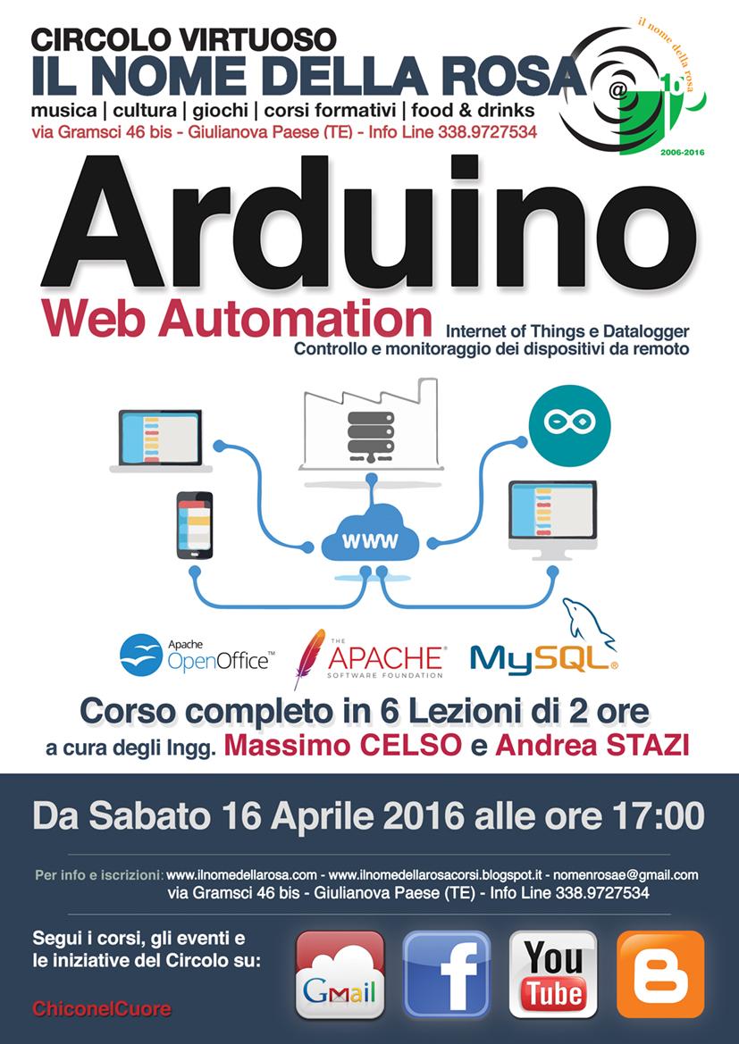 ARDUINO WEB AUTOMATION