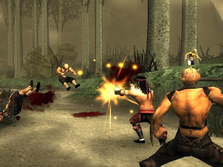 Cheat Mortal Kombat Shaolin Monks PS2 Darah Tak Terbatas