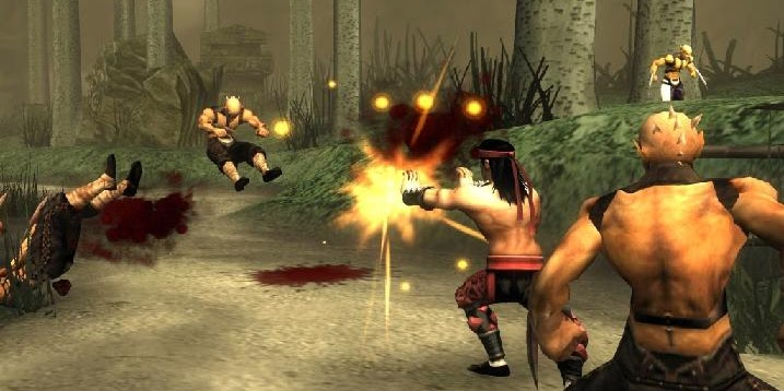 11++ Cheat Mortal Kombat Shaolin Monks PS2 Darah Tak Terbatas