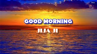 good morning jija ji image