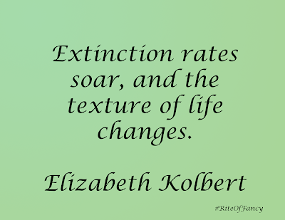 A short summary and review of the book The Sixth Extinction by Elizabeth Kolbert with a quote and questions to ponder.