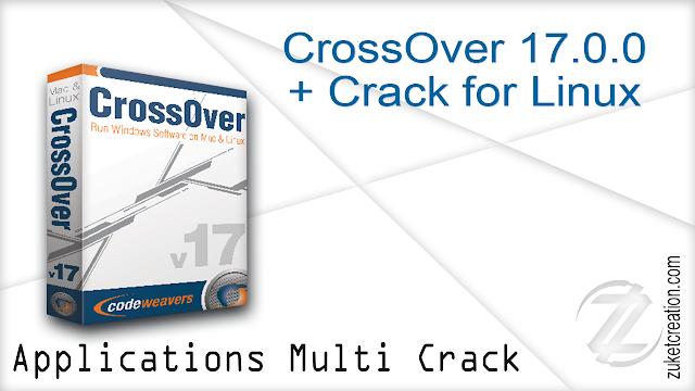 CrossOver 17.0.0 + Crack