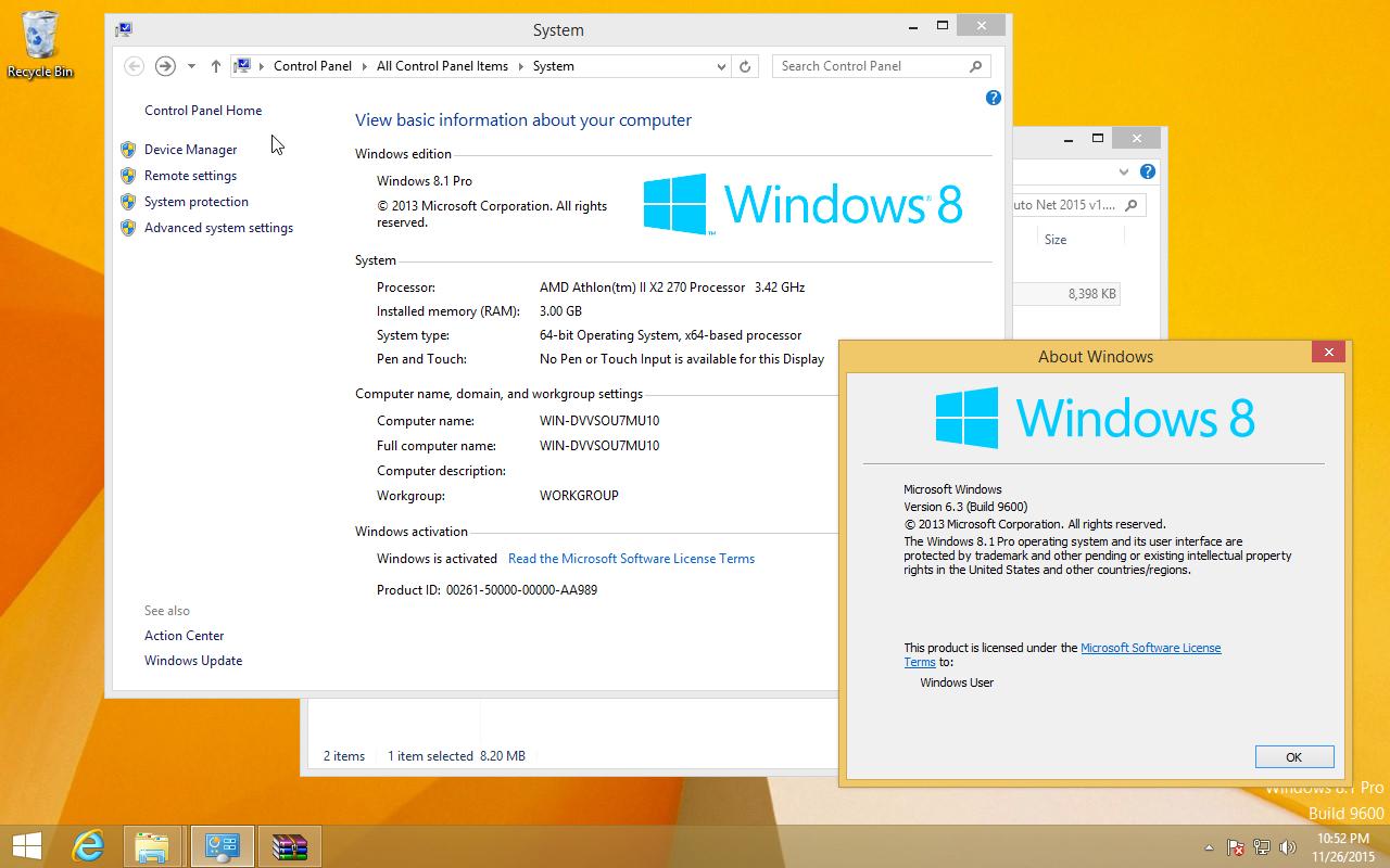 windows 8.1 pro 64 bit activated iso