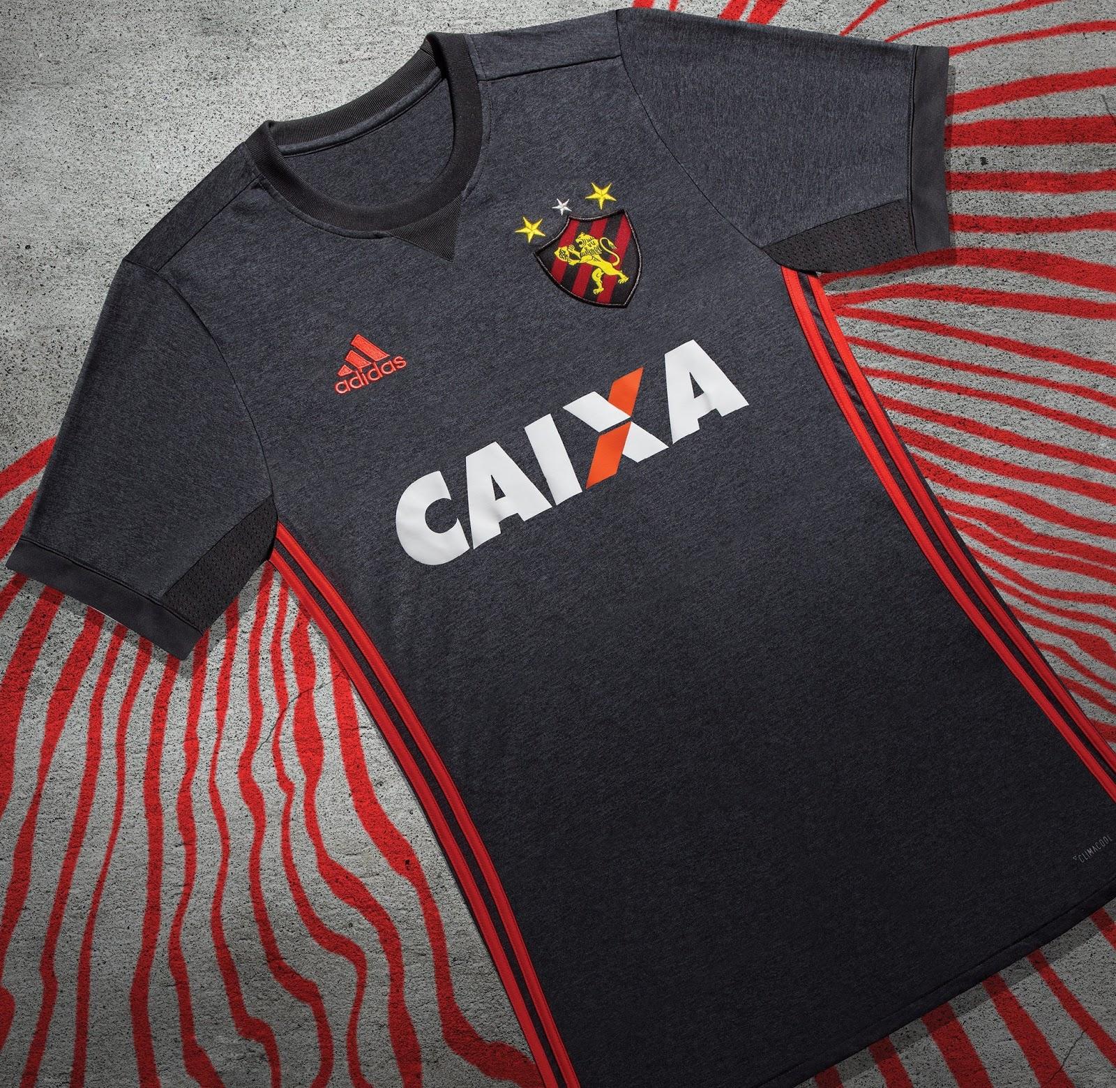 Adidas lança a nova camisa reserva do Sport Recife - Show de Camisas 4f7f02a427c3c