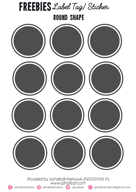 freebies-label-tagsticker-round-shape
