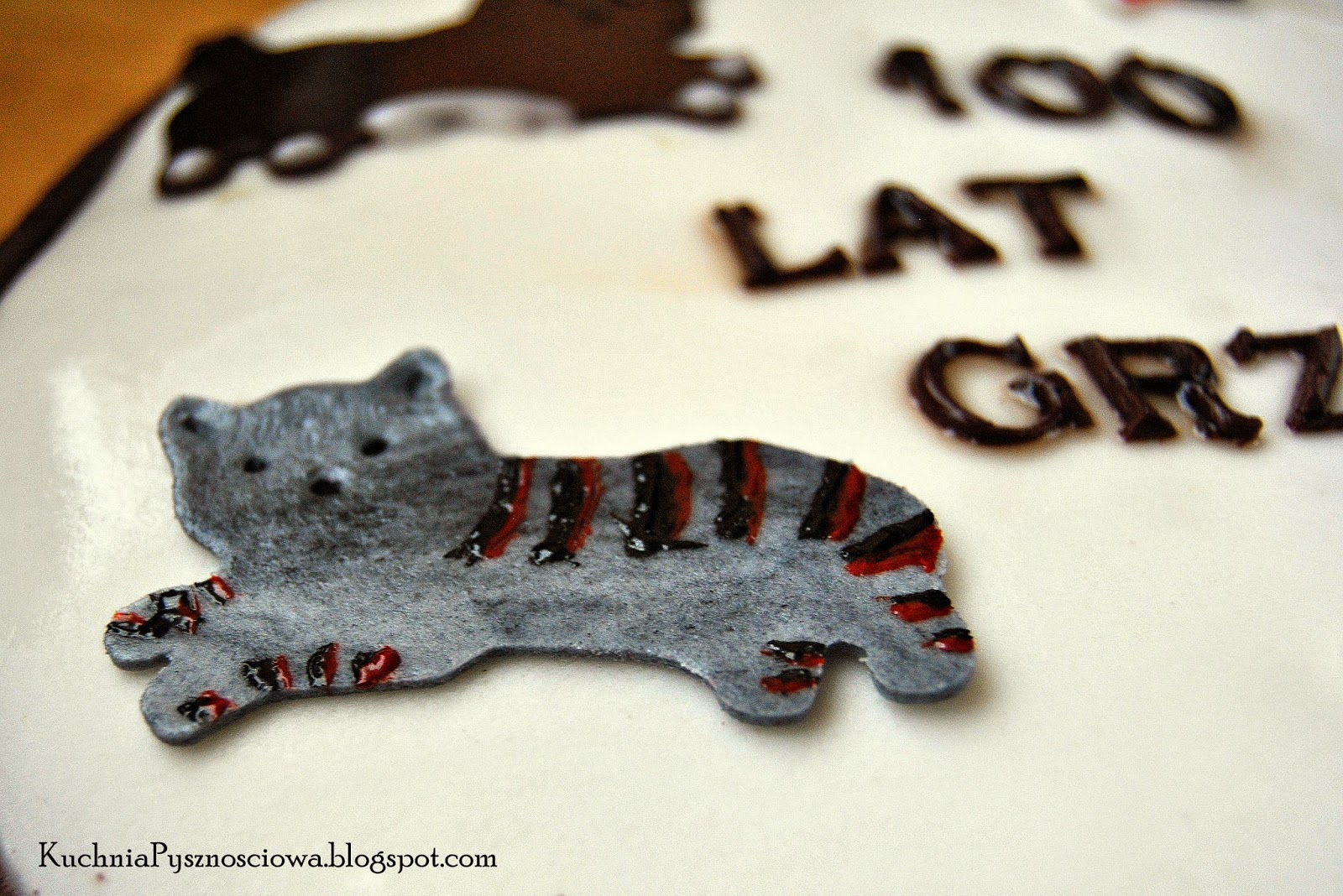 Urodzinowy Tort Dla Miłośnika Kotów Kuchnia Pysznościowa Blog