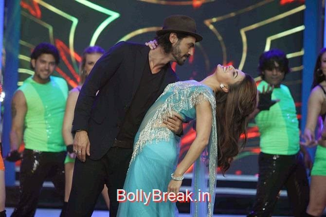 , Jacqueline Fernandez Bigg Boss 8 Roy Promotions Hot Images in Green Saree