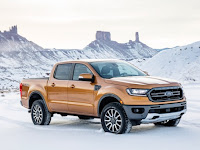 First Look of 2019 Ford Ranger Pickup