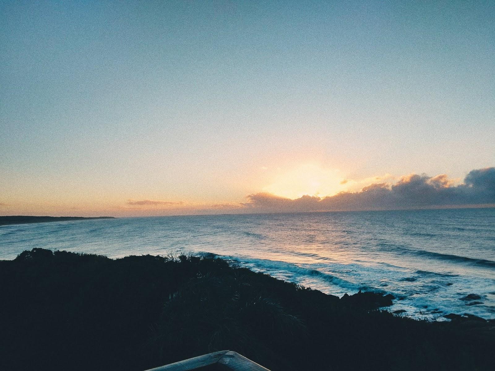 Praia de La Moza no Uruguai
