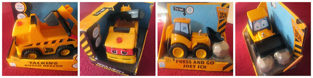 JCB toy talking toy truck for children kids and toddlers
