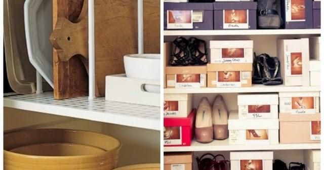 home garden 50 astuces pour tout ranger dans la maison. Black Bedroom Furniture Sets. Home Design Ideas