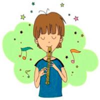 Resultado de imagen de como tocar la flauta dulce con imagenes
