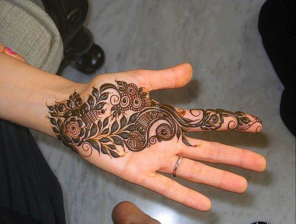 Mehndi For Children : Fashion block easy and simple mehndi designs for kids hands