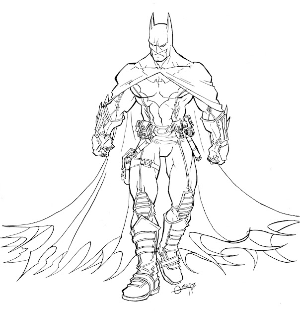 Batman Coloring Pages For Kids Printable