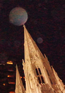 orb on spire