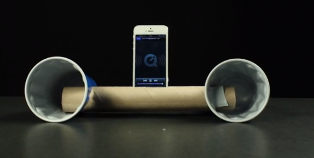 lifehack sound box iphone
