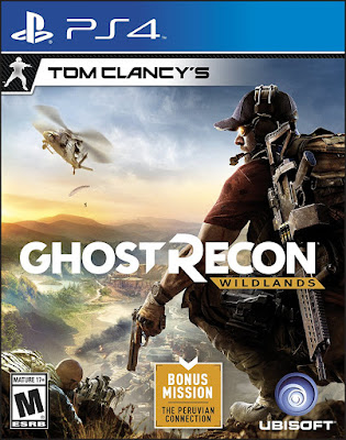 Ghost Recon Wildlands Game Cover
