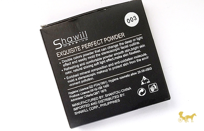 Review : Cheap Contour Powder in the Philippines - Shawill