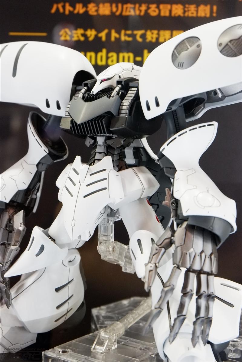 P-Bandai: MG 1/100 Qubeley Dammed Exhibited at C3 AFA Tokyo 2018 - Gundam Kits Collection News and Reviews