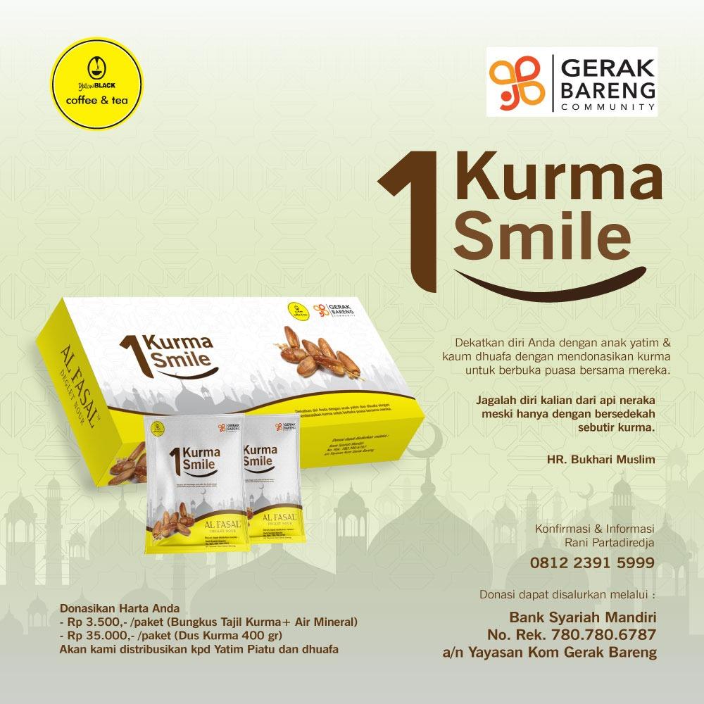 1 KURMA 1 SMILE