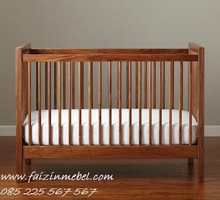 box bayi kayu jati jepara minimalis murah