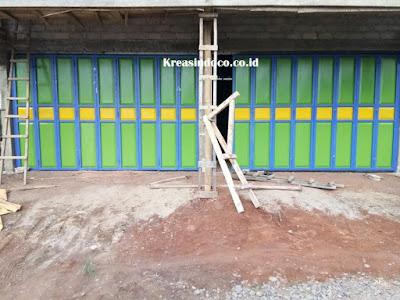 Jasa Pembuatan Pintu Lipat Besi Campang Tiga Liwa Lampung Barat