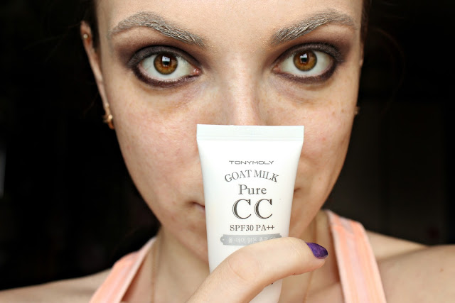 twenties make-up: Tony Moly CC-cream