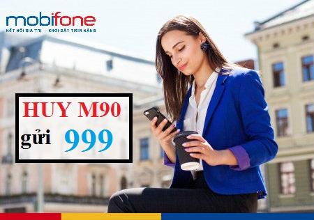 Cách hủy gói M90 MobiFone