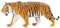 Siberian Tiger Toy Miniature