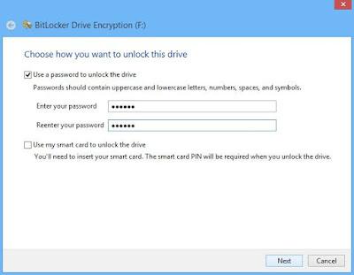 Cara Melindungi USB Flashdisk Anda Dengan Kata Sandi - Bitlocker 2