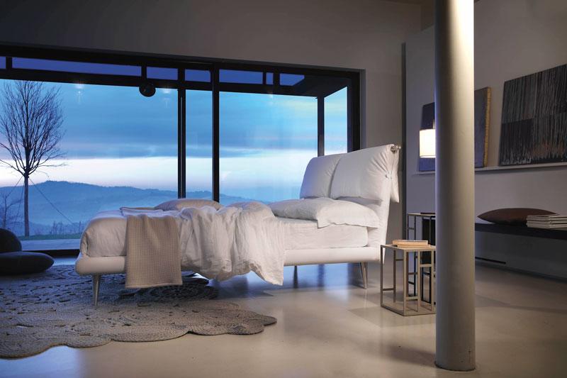 letto matrimoniale FLY Calima di Bontempi Casa Letti Design