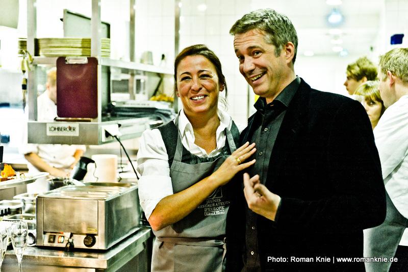 Alexander Herrmann und Arthurs Tochter