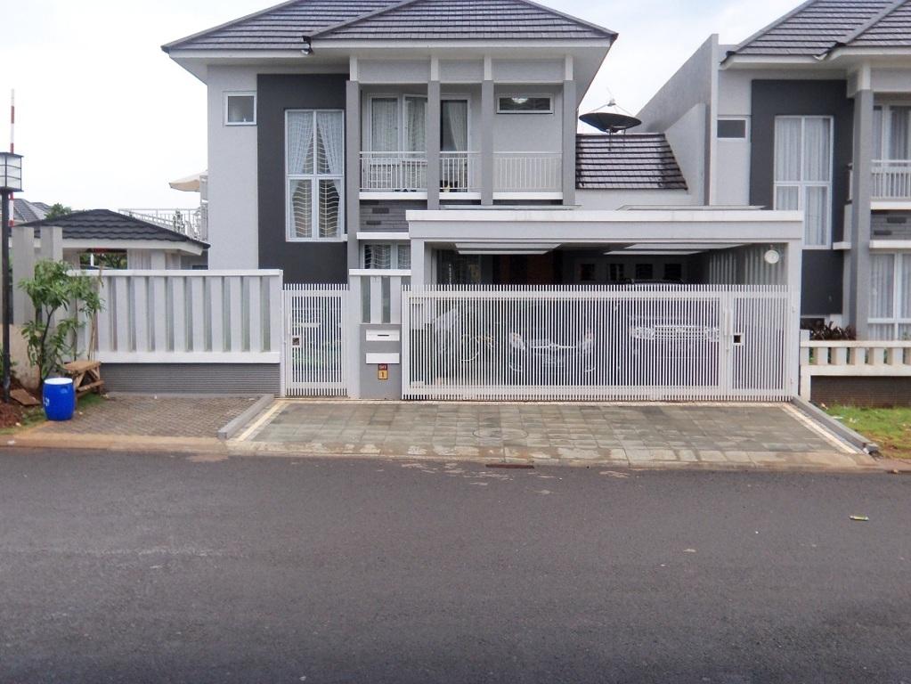 Desain Pagar Rumah Profil