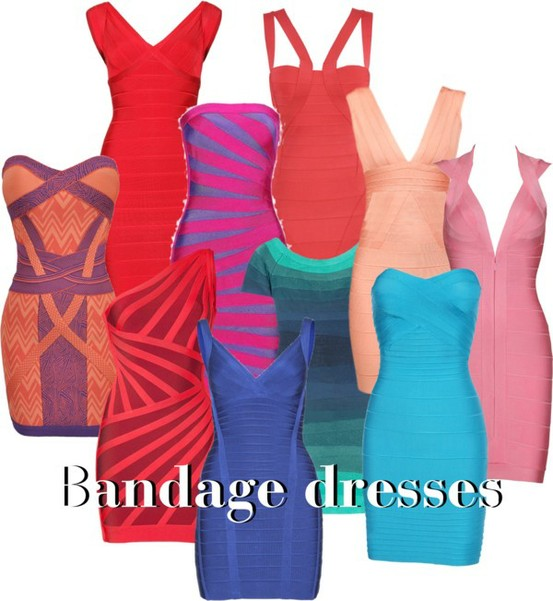 LOW COST BANDAGE DRESSES