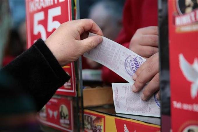 Milli Piyango bileti satmak