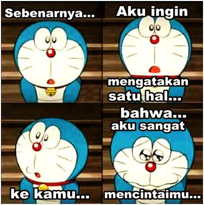 Kumpulan Gambar Status Lucu Animasi Doraemon Terbaru