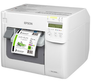 quality color label printer designed to impress unlike types of labels internally at depression  Epson TM-C3500 Driver Download