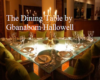 The Dining Table by Gbanabom Hallowell
