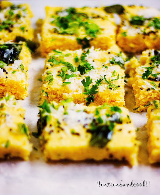 how to make instant Microwave Khaman Dhokla recipe and preparation