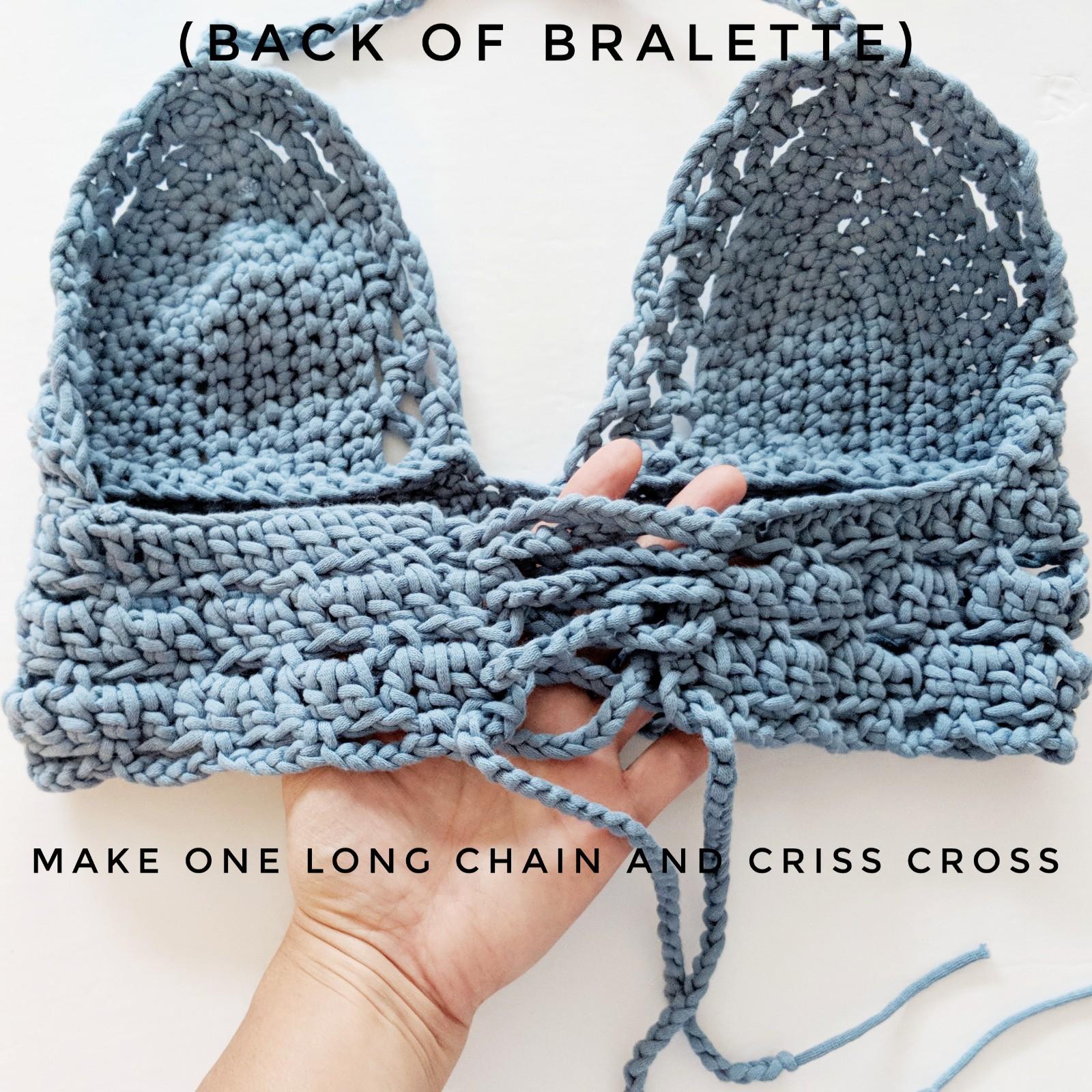Sarah Bralette Pattern Oth Crochet Nook