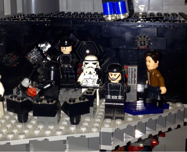 Doctor Who and Star Wars Lego