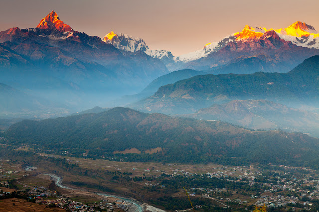 Annapurna View from Sarangkot
