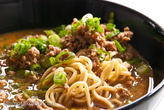thegluegungirl: Cheats Tan Tan Noodles