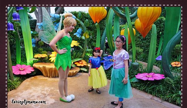 DIY Hong Kong Tour Itinerary - Hong Kong family tour - visit Hong Kong - Hong Kong Disneyland - Tinkerbell