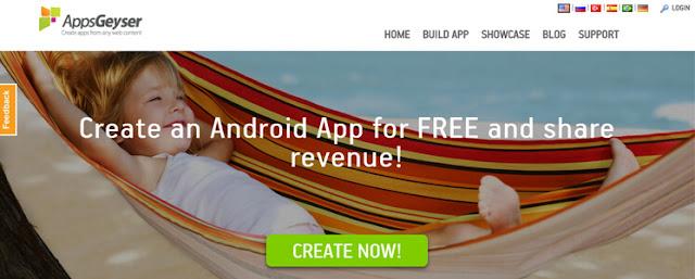 موقع لإنشاء تطبيقات أندرويد للأجهزة الذكية في دقائق وبالمجان!