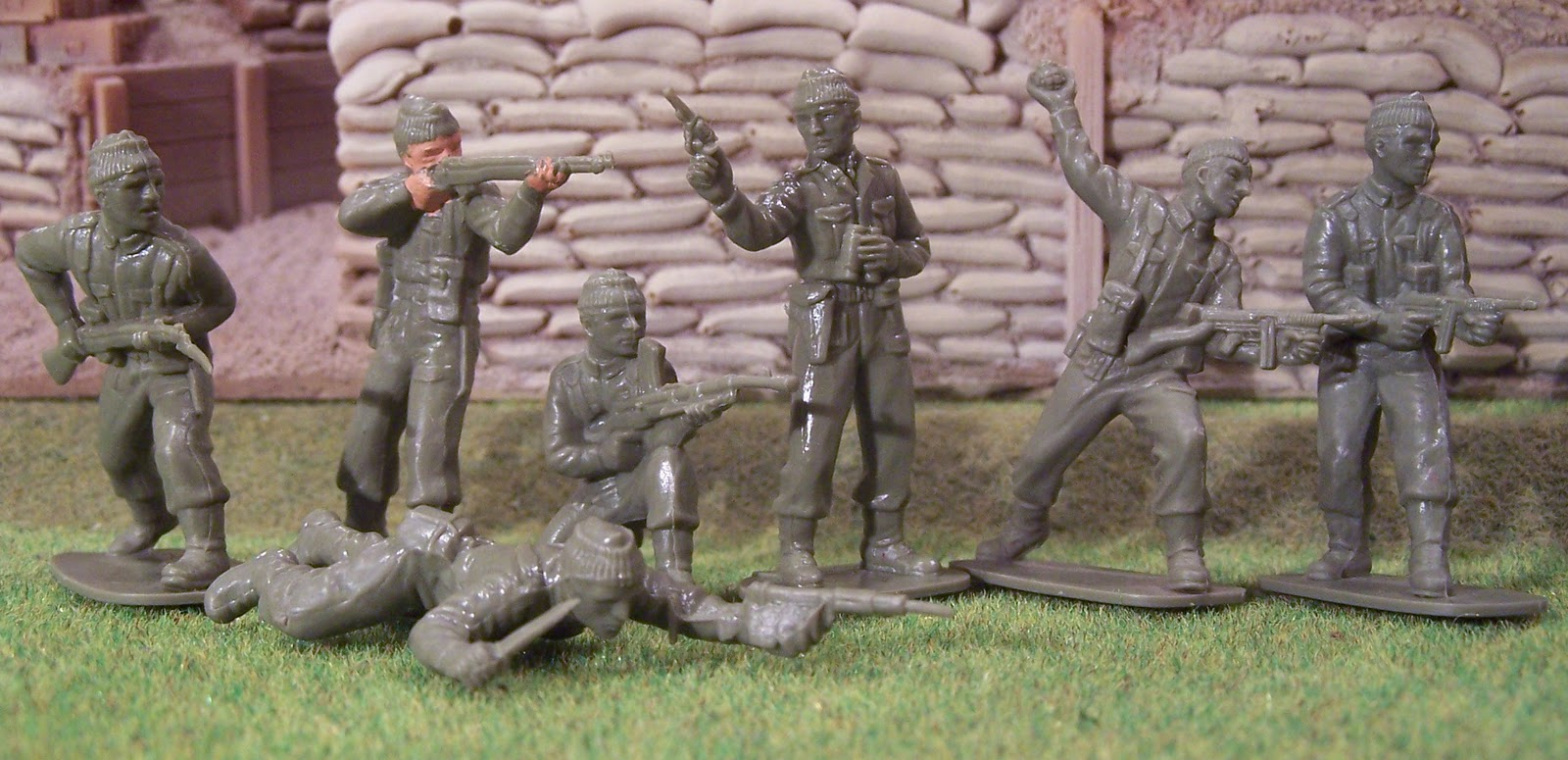 Wwii Plastic Toy Soldiers Introducing The British Commandos